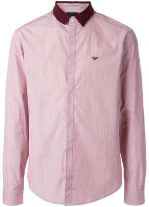 Emporio Armani regular-fit shirt