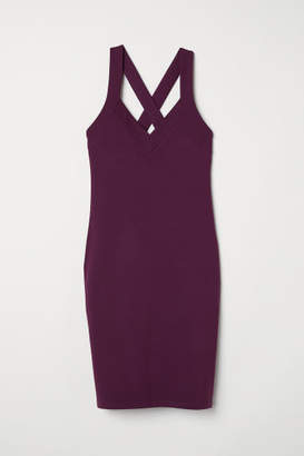 H&M Fitted Dress - Purple