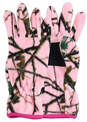 Grand Sierra Women's Fleece Camoflage Winter Gloves