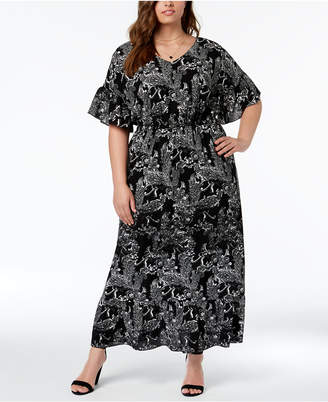 Plus Size Dolman Sleeve Dress Shopstyle