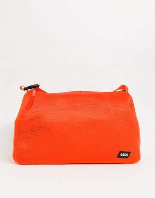 Asos 4505 4505 neon mesh carryall with detachable inner bag