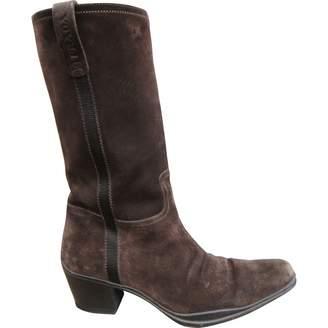 Prada Cowboy boots