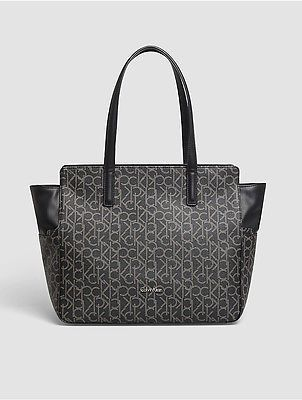 Calvin KleinCalvin Klein Womens Nina Mono Tote Bag Black