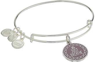 Alex and Ani Words are Powerful Just Breathe Bangle Bracelet