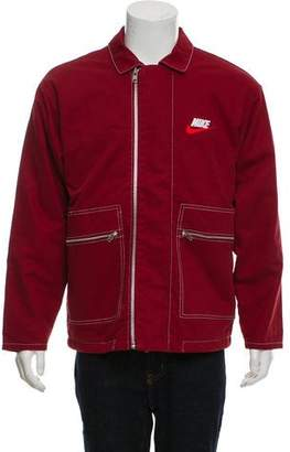 Nike Supreme x 2018 Double Zip Quilted Work Jacket