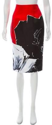 Prabal Gurung Knee-Length Pencil Skirt