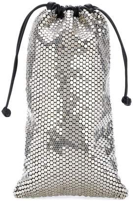 Alexander Wang studded clutch bag