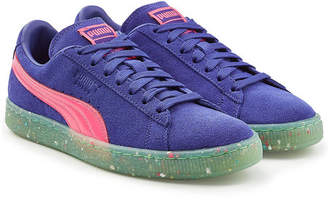Puma Classic Sneakers with Leather and Suede