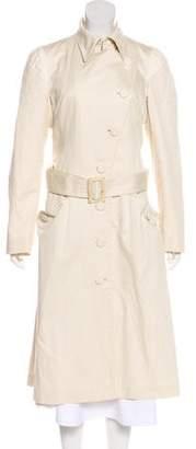 Alexander McQueen Long Trench Coat