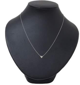 Ahkah 18K White Gold with 0.005ct Black Diamond Kuntzel+Deygas Beast Necklace