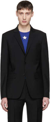 Givenchy Black Star Two-Button Blazer