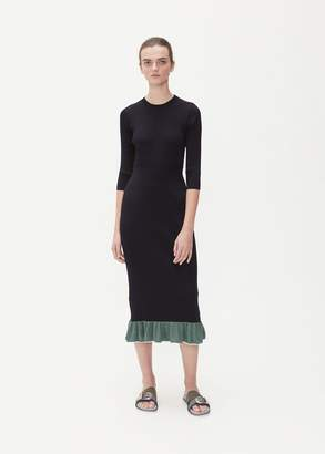 TOGA Archives Long Sleeve Wide Rib Knit Dress