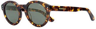 "Vestal Acetate & Stainless Steel Round Sunglasses ""Naples"""