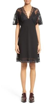 Women's Mcq Alexander Mcqueen Volant Lace Dress $625 thestylecure.com