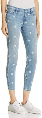 Black Orchid Noah Skinny Ankle Jeans in Lucky Star $176 thestylecure.com