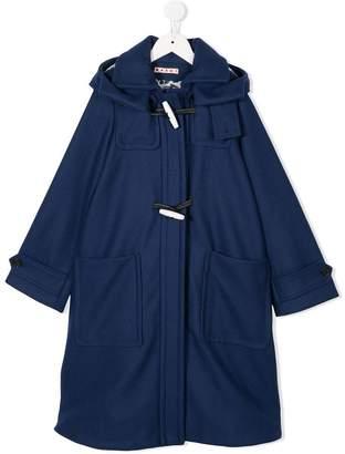 Marni hooded duffle coat
