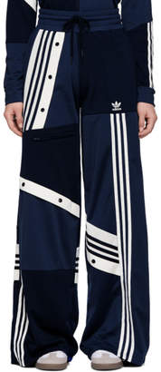 adidas By Danielle Cathari by Danielle Cathari Blue Deconstructed Lounge Pants