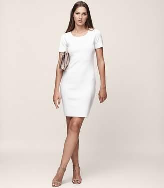 Reiss Skyler Knitted Short Sleeved Dress