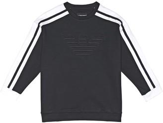 Emporio Armani Kids Stretch jersey sweatshirt