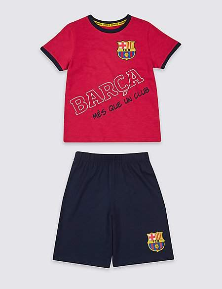 FC BarcelonaTM Cotton Pyjamas (3-16 Years)