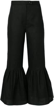 Mara Hoffman flared trousers