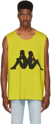 Faith Connexion Yellow Kappa Edition Sleeveless T-Shirt