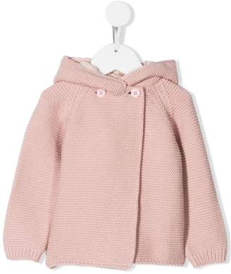 Stella McCartney hooded knitted jacket