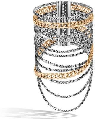 John Hardy Aaxjh Classic Chain Multi Row Bracelet
