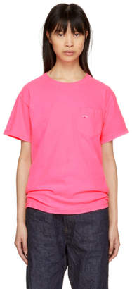 Noah NYC Pink Pocket T-Shirt