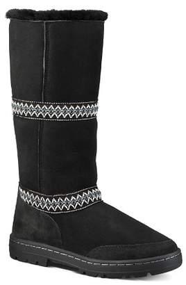 UGG Women's Original Sundance Round Toe Suede & Sheepskin Tall Boots