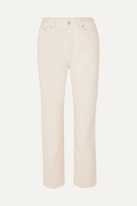 Off-White CASASOLA - Mid-rise Cropped Straight-leg Jeans