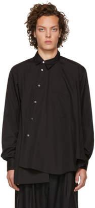 Comme des Garcons Black Asymmetrical Shirt