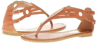 Forever Young Victoria K Women's Golden Feather Sandals