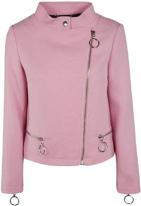 Moschino Knit Biker Jacket