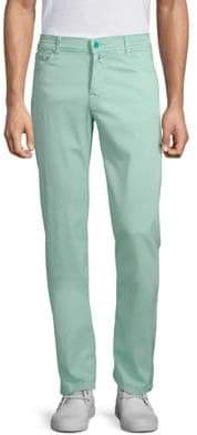 Kiton Buttoned Slim-Fit Jeans