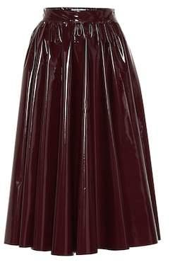 MSGM Vinyl skirt