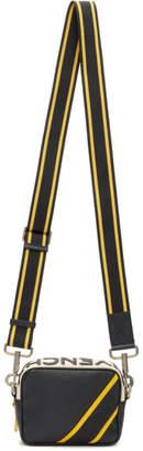 Givenchy Black and Yellow Reverse Logo Crossbody Bag