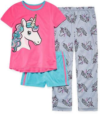 JELLIFISH KIDS Jelli Fish Kids 3-pc. Pajama Set Girls