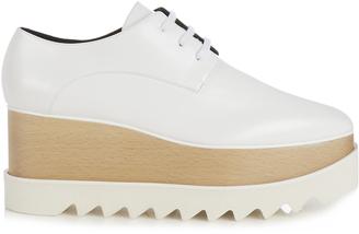 STELLA MCCARTNEY Elyse lace-up platform shoes $604 thestylecure.com