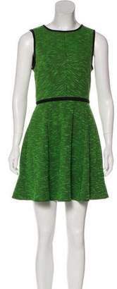 Tibi Knit Sleeveless Mini Dress