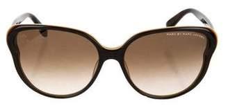 Marc by Marc Jacobs Gradient Oversize Sunglasses