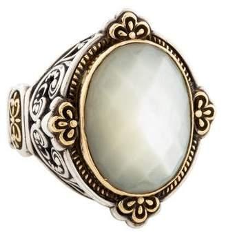 Konstantino Mother of Pearl Selene Cocktail Ring