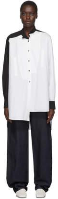 Loewe White Long Asymmetric Shirt