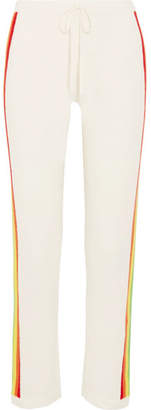 Madeleine Thompson Rainbow Cashmere Track Pants - Cream