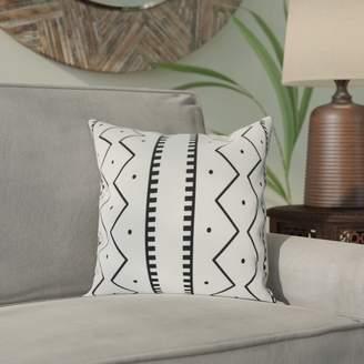 Bungalow Rose Lassiter Mudcloth Geometric Outdoor Throw Pillow