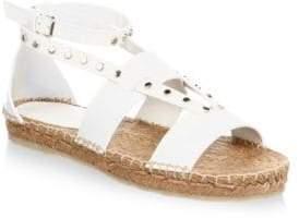 Jimmy Choo Studded Flat Espadrilles