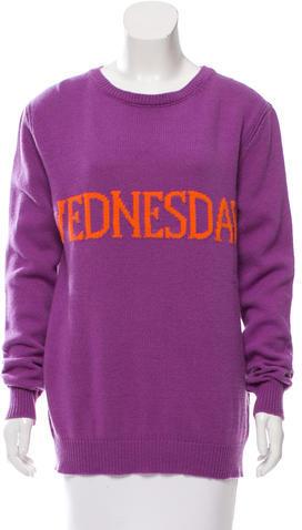 Alberta FerrettiAlberta Ferretti Wool & Cashmere-Blend Knit Sweater