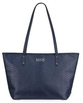 GiGi New York Navy Zip Mini Taylor Tote
