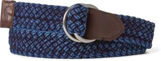 Ralph Lauren Braided Cotton O-Ring Belt