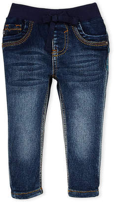 Vigoss Infant Girls) Ribbed Waist Skinny Jeans